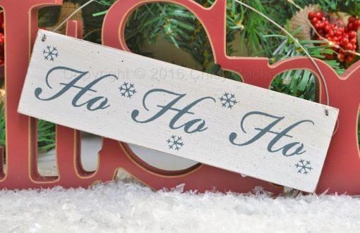 Ho Ho Ho Mini Sign 2