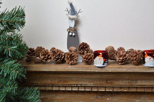Natural Pine Cone Garland