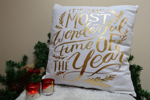 It's The Most Wonderful Time Of The Cushion