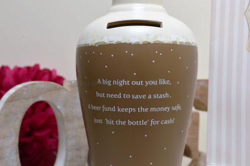 Beer Fund Savings Money Bottle 2