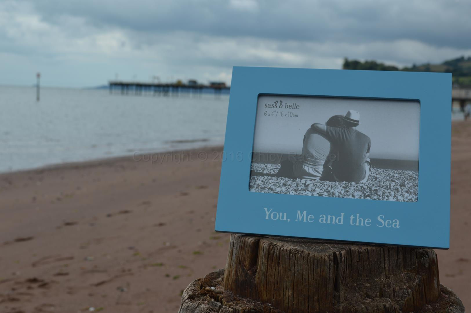 You Me And The Sea Picture Frame