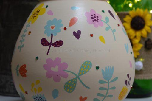 Bright Floral Pot Of Dreams 4