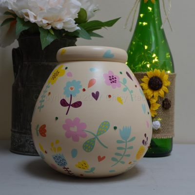 Bright Floral Pot Of Dreams 7