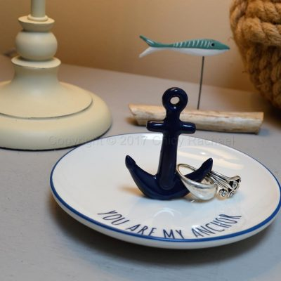 Blue Anchor Ring Dish 2