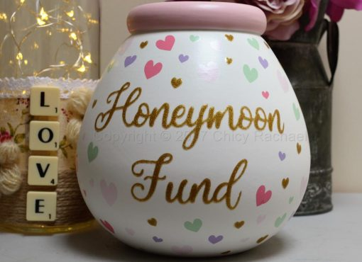 HONEYMOON FUND POT OF DREAMS MONEY POT 2