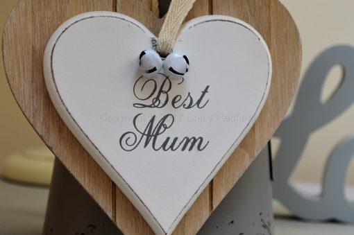 Best Mum Double Hanging Heart 3
