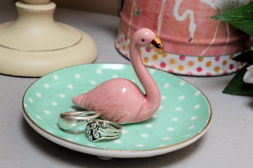Flamingo Ring Dish 6