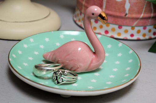 Flamingo Ring Dish 7