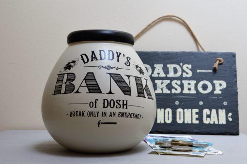 Daddy's Bank Pot Of Dreams Money Pot 3