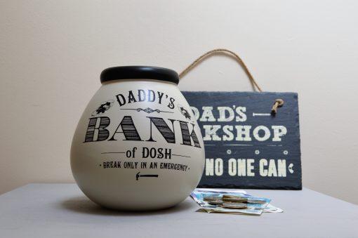 Daddy's Bank Pot Of Dreams Money Pot 4