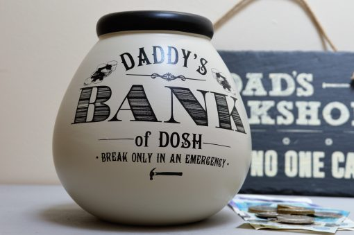 Daddy's Bank Pot Of Dreams Money Pot