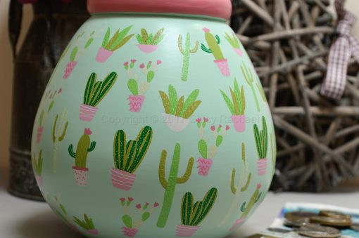 Cactus Pot Of Dreams Money Pot 3