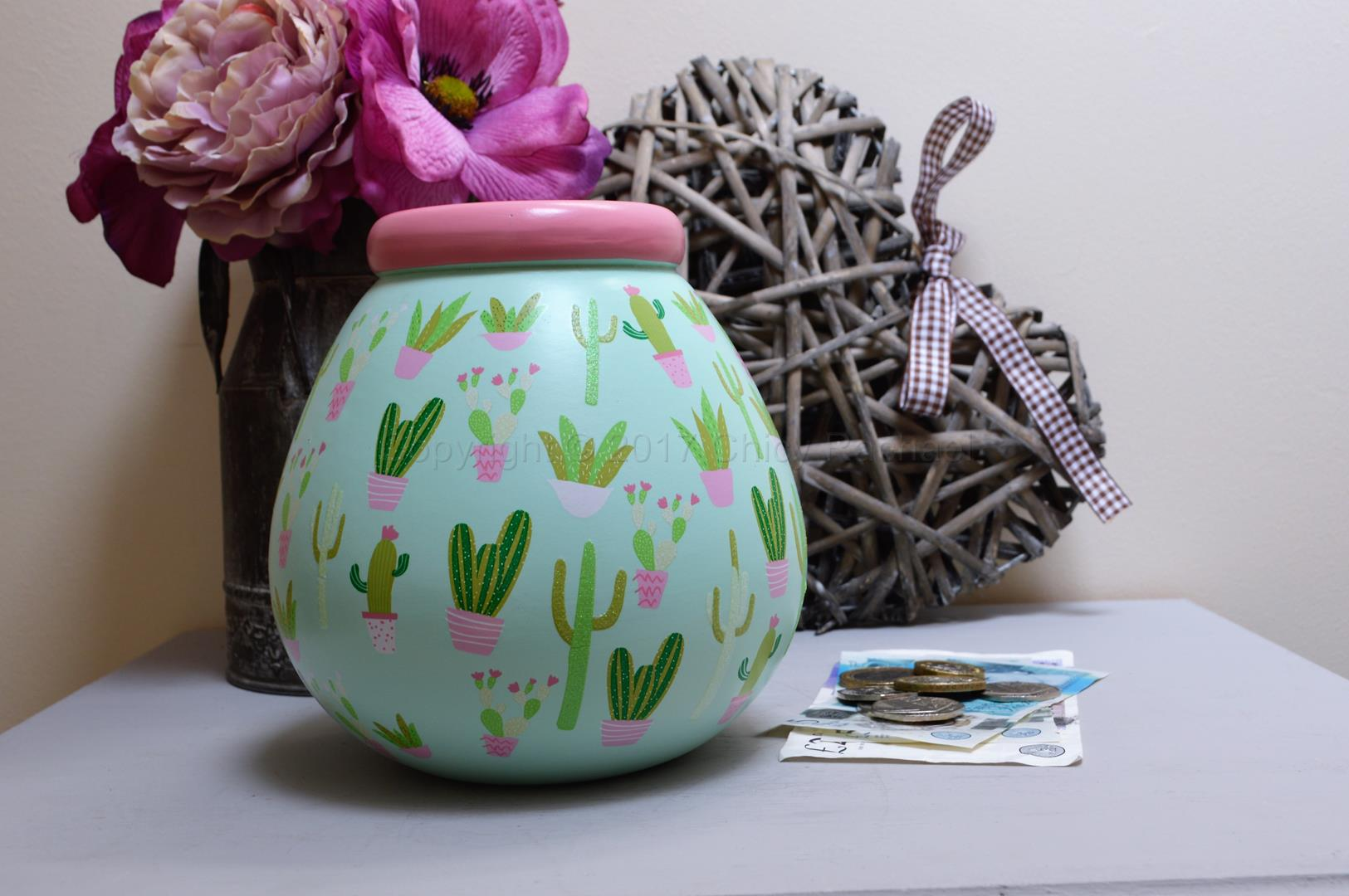 Cactus Pot Of Dreams Money Pot 5