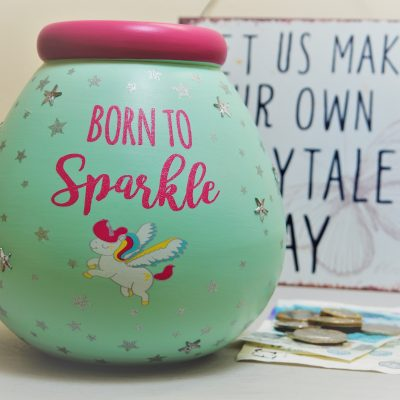Born To Sparkle Pot Of Dreams Money Pot 6