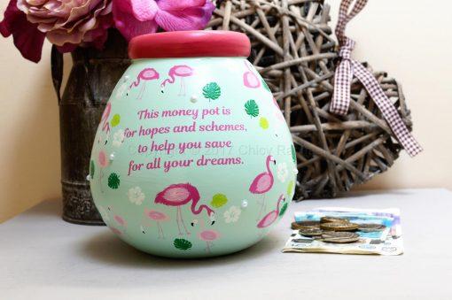 Flamingo Pot Of Dreams Money Pot 4