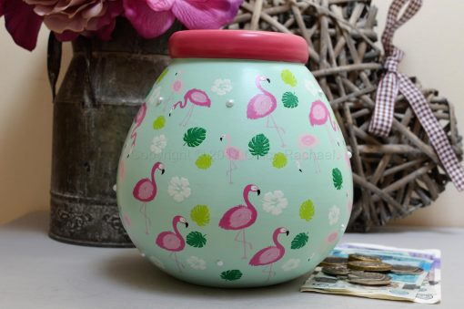 Flamingo Pot Of Dreams Money Pot 9
