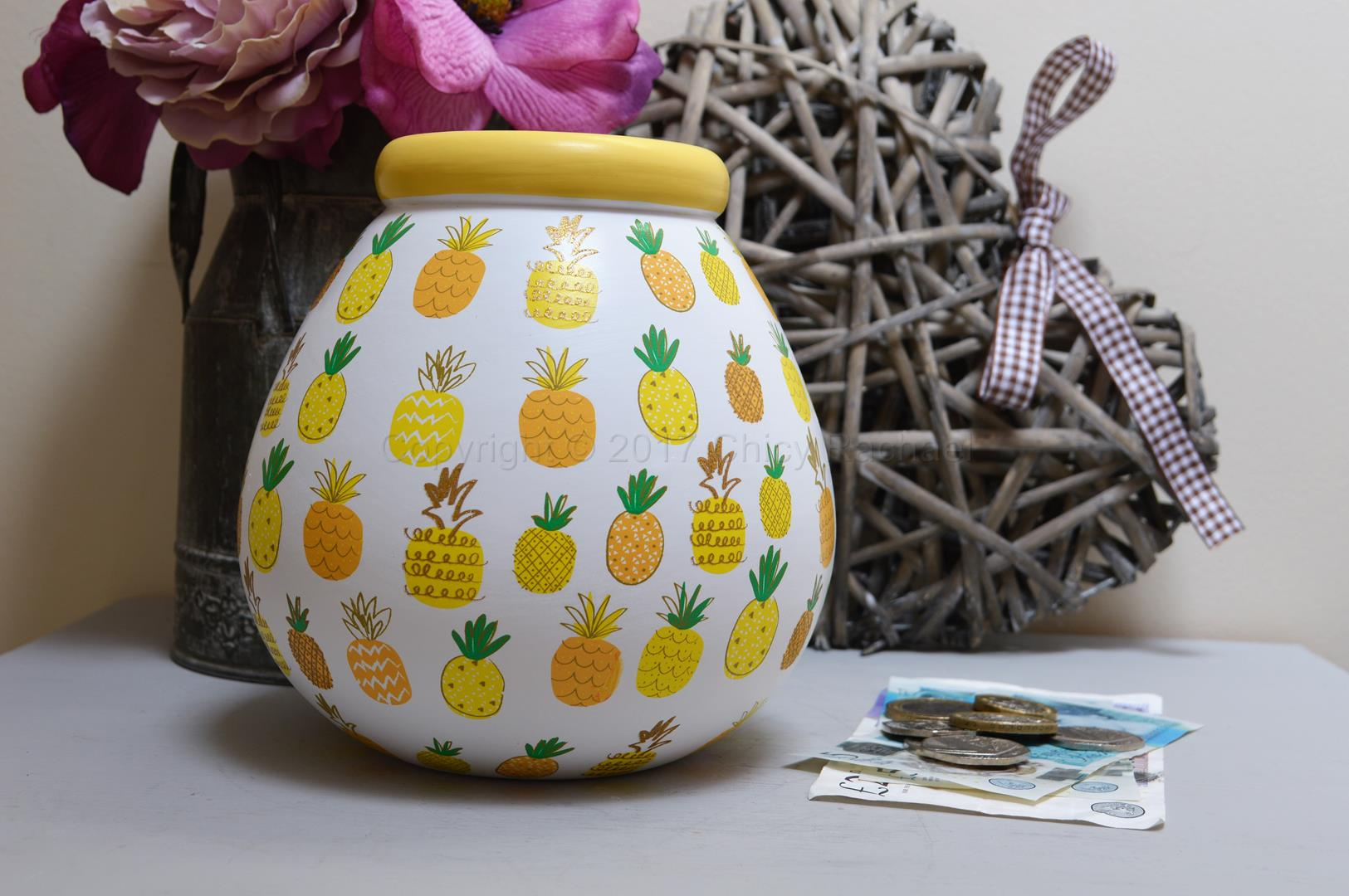 Pineapple Pot Of Dreams Money Pot 2