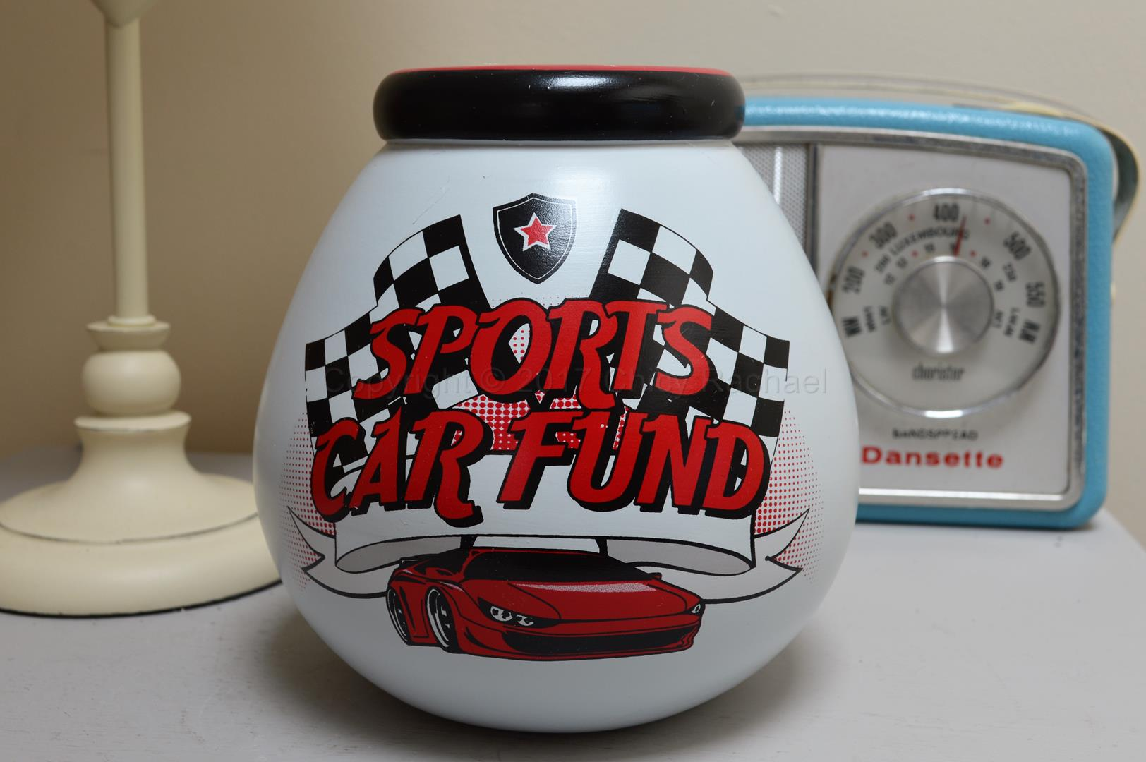 Sports Car Pot Of Dreams Money Pot