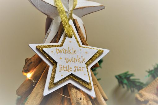 Twinkle Twinkle Little Star Hanging Decoration 5