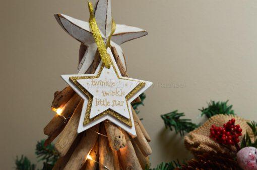 Twinkle Twinkle Little Star Hanging Decoration
