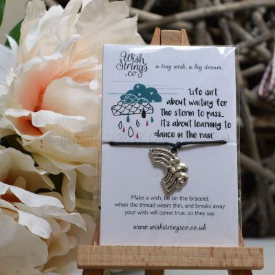 Dance In The Rain Wish String Charm Bracelet 2