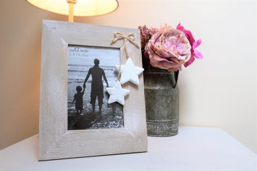 Wooden Picture Frame With Stars 2