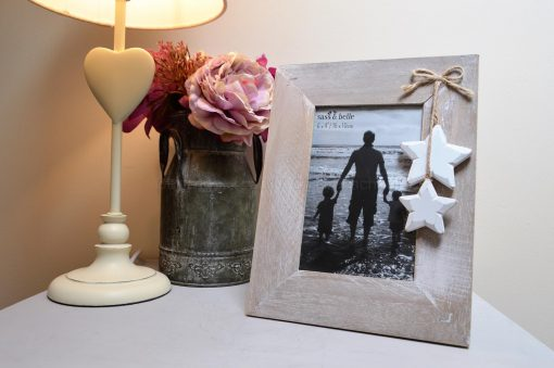 Wooden Picture Frame With Stars 4