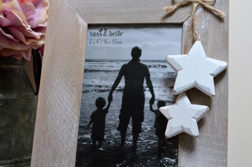 Wooden Picture Frame With Stars 8