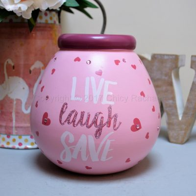 Live Laugh Save Pot Of Dreams Money Pot