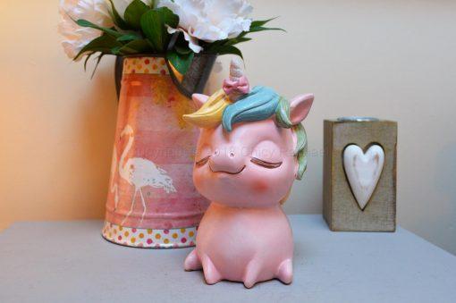 Pastel Pink Unicorn Money Box 11