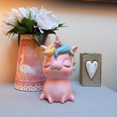 Pastel Pink Unicorn Money Box 2