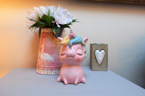 Pastel Pink Unicorn Money Box 2