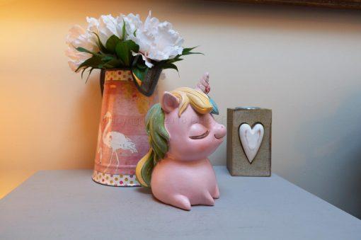 Pastel Pink Unicorn Money Box 4