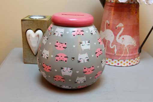 Cat Pattern Pot OF Dreams Money 4