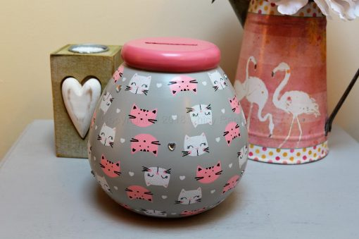 Cat Pattern Pot OF Dreams Money 8