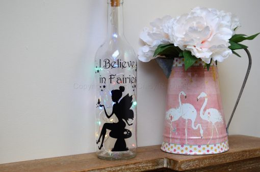 Handmade Fairy Toadstool LED Light Up Bottle
