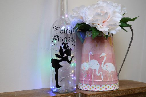 Handmade Fairy Wishes LED Light Up Bottle