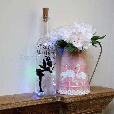 Handmade Fairy Wishes LED Light Up Bottle