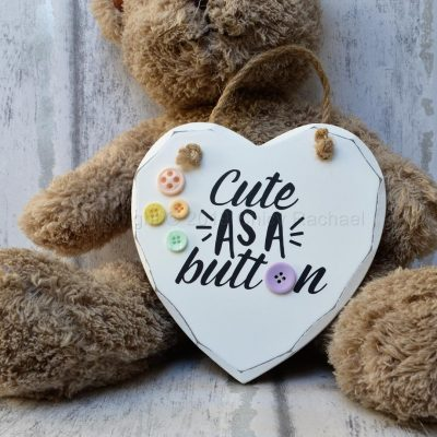 CUTE-AS-A-BUTTON-WOODEN-HANGING-HEART