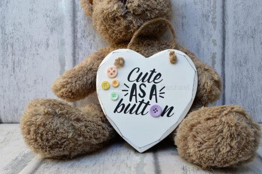 CUTE-AS-A-BUTTON-WOODEN-HANGING-HEART